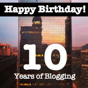 Моему блогу - 10 лет