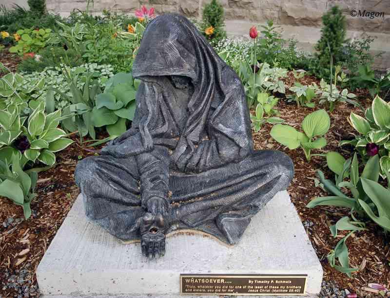 Памятник нищему by Magon