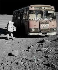 На школьном автобусе по Марсу