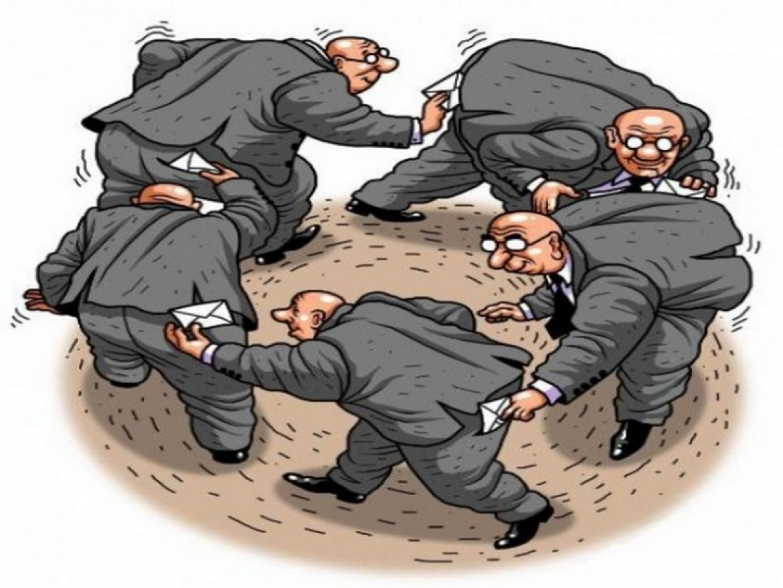 Чиновники и взятки