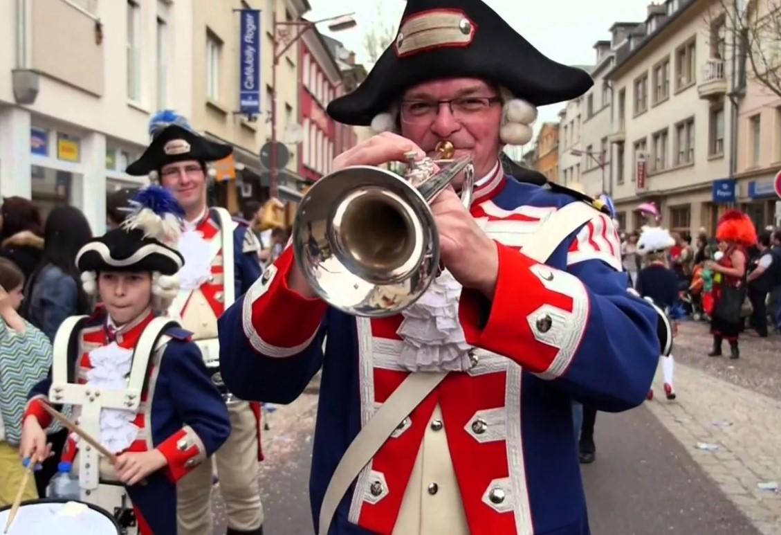 Карнавал в Дикерше (Люксембург)