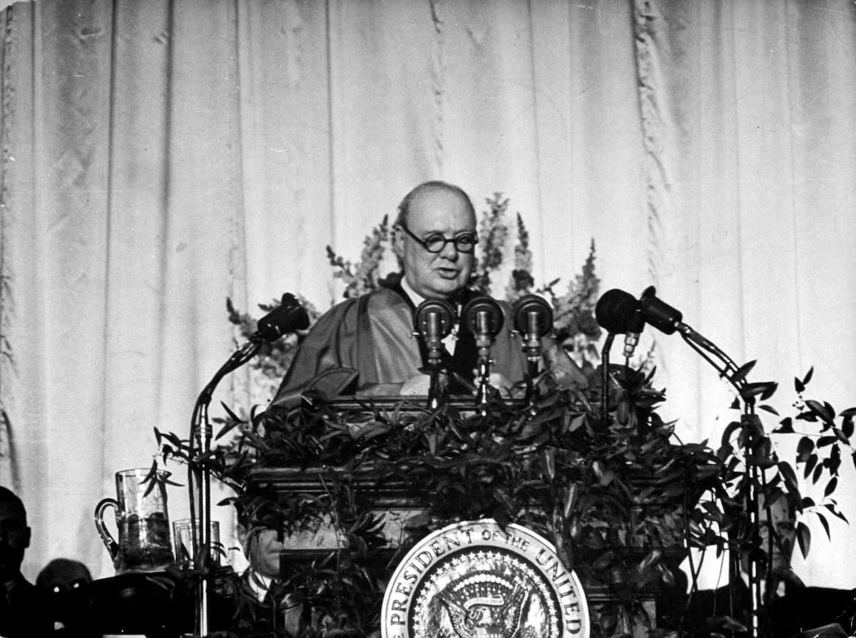 Фултонская речь Черчилля