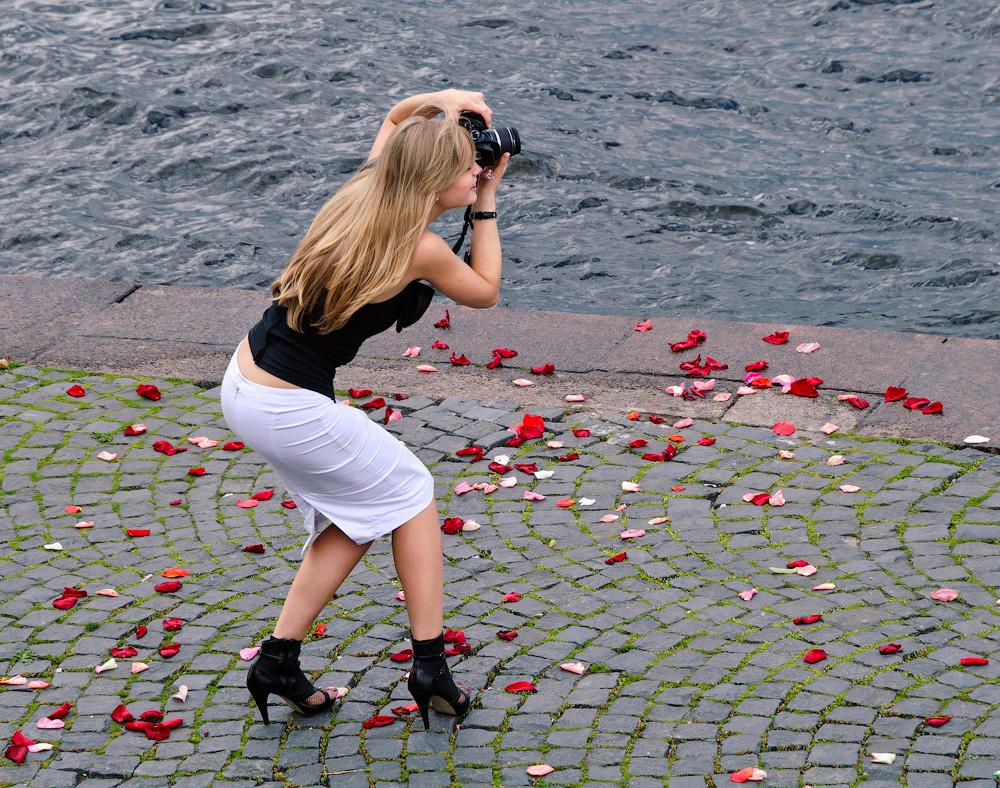 Одна барышня-фотограф…