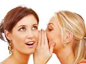 Женские сплетни и рассуждения