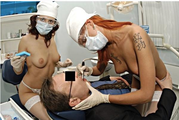 голая грудь лечащего врача