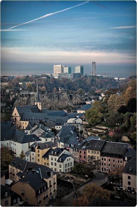Люксембург в 3D
