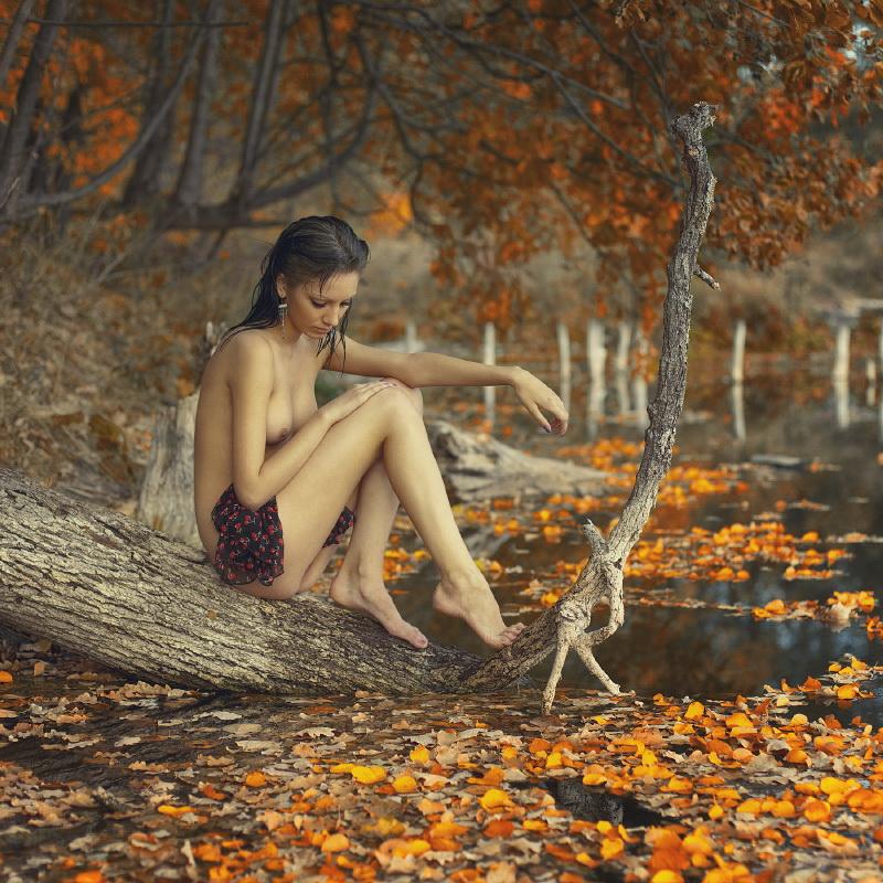 Золотая осень. Как правильно снимать листву