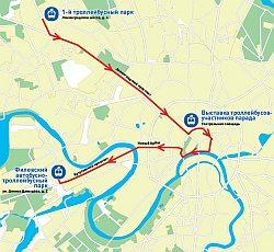Московский парад ретро-троллейбусов (2014)