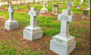 Поминовение русских моряков, похороненных на кладбище г.Валехо, шт.Калифорния