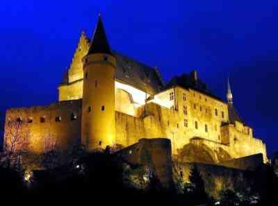 Chateau de Vianden/Замок Вьянден