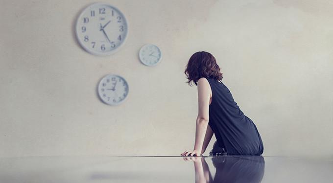 время для женщины течет не так