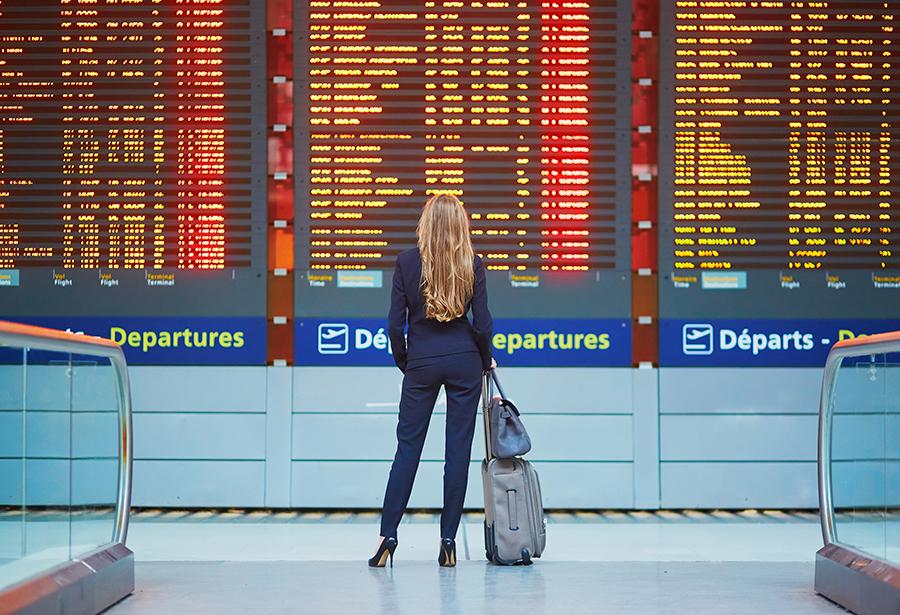 Задержки рейсов в аэропортах