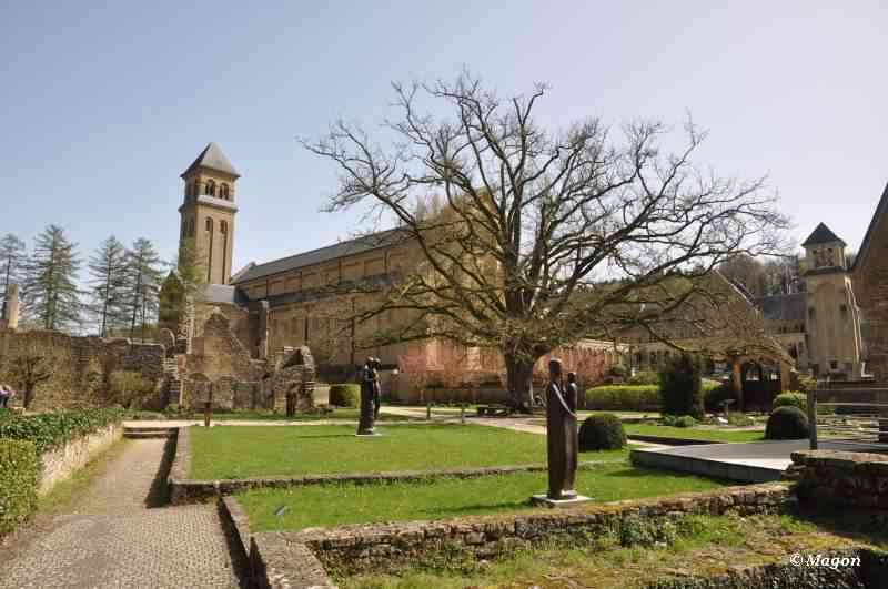 Trappist Cistercian monastery Orval (Belgium) by Magon