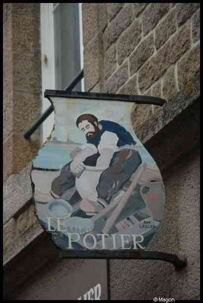 Signboards of Saint Malo