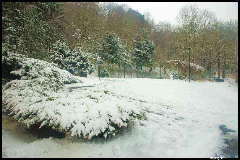 Luxembourg. Beggen. 21.12.2009