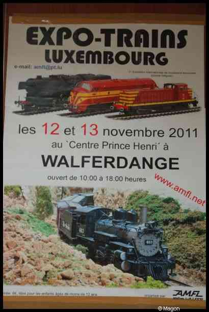 Expo-Trains Luxembourg by Magon