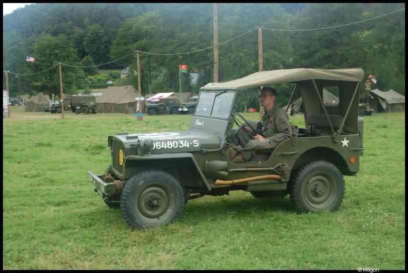 4-я международная встреча владельцев военных автомобилей в Люксембурге