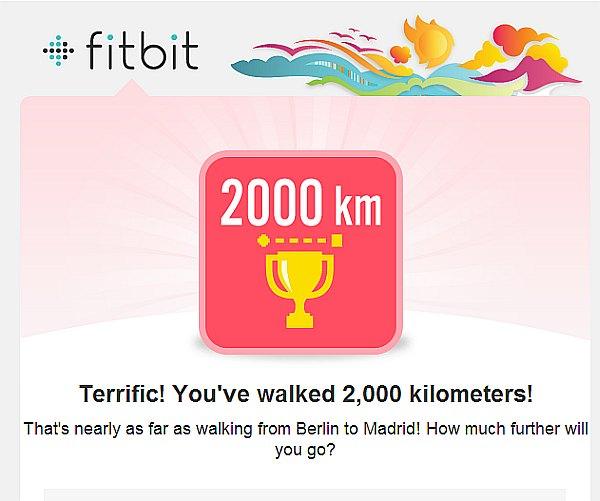 fitbit 2000 км