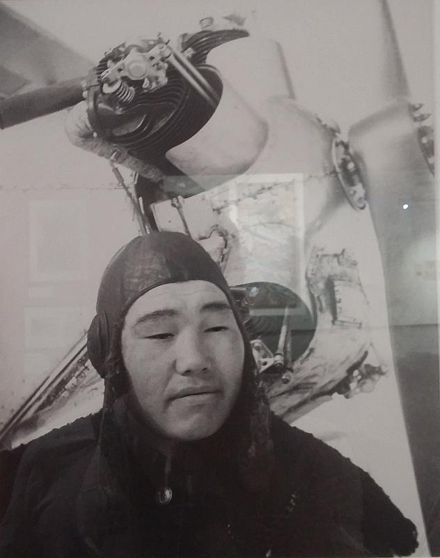 Первый летчик-чукча. 1938 г. Выставка «Авангард и авиация» by Magon