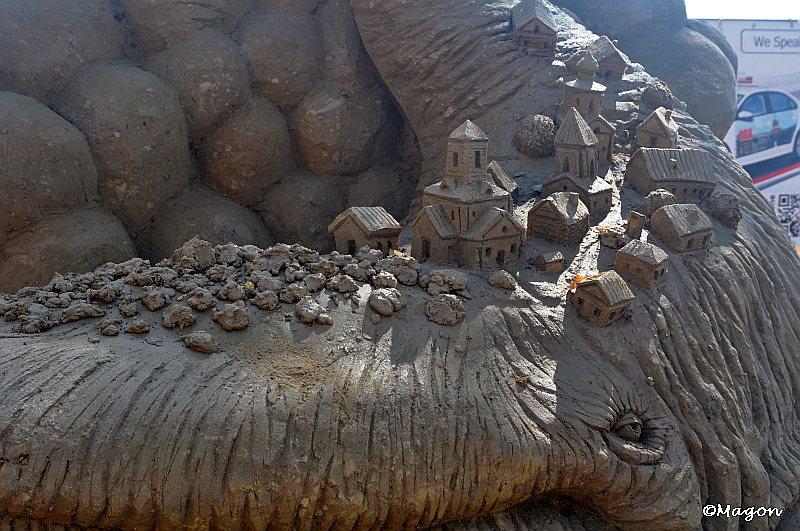 XIII Международный фестиваль песчаных скульптур, Санкт-Петербург by Magon
