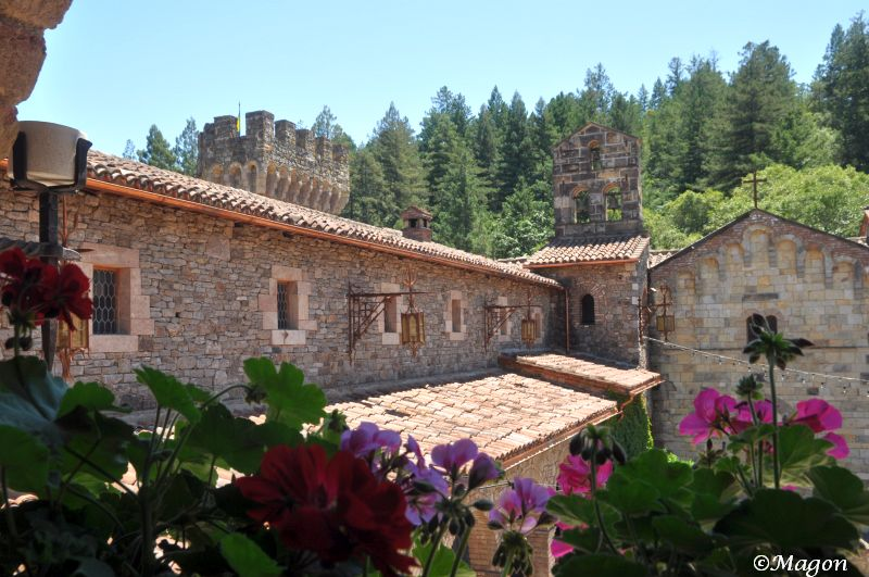 Castello di Amorosa (Замок любви) by Magon