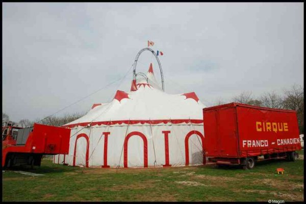Цирк в Арлоне (Бельгия) by Magon