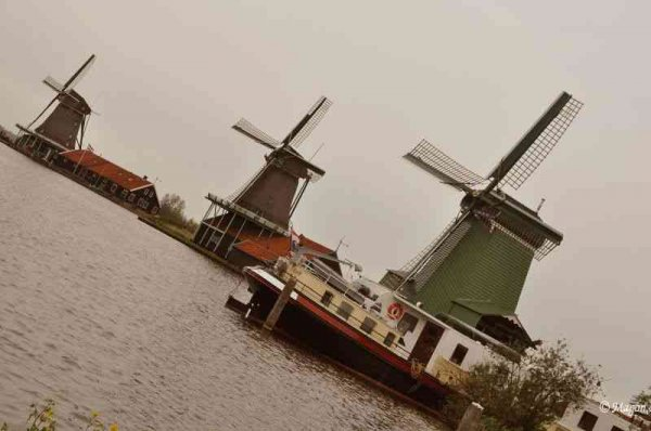 Мельницы Zaanse Schans (Голландия)  by Magon