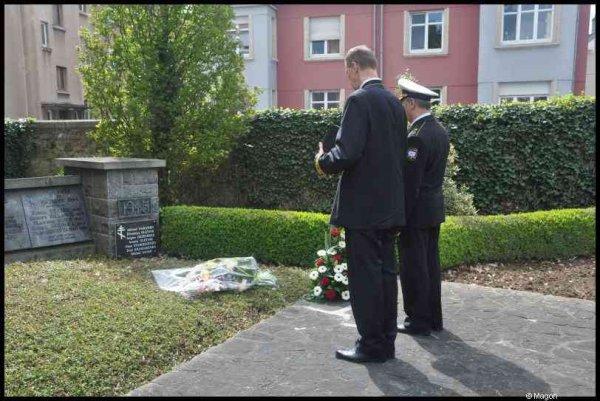 Возложение венков к памятникам советских гражданам погибшим в Люксембурге в 1941-1945 гг. (Бонневуа, Люксембург) by Magon