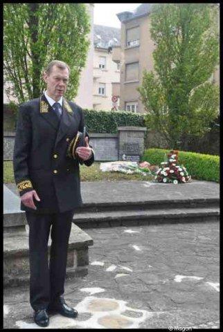 Возложение венков к памятникам советских граждан, погибшим в Люксембурге в 1941-1945 гг. (Бонневуа, Люксембург) by Magon