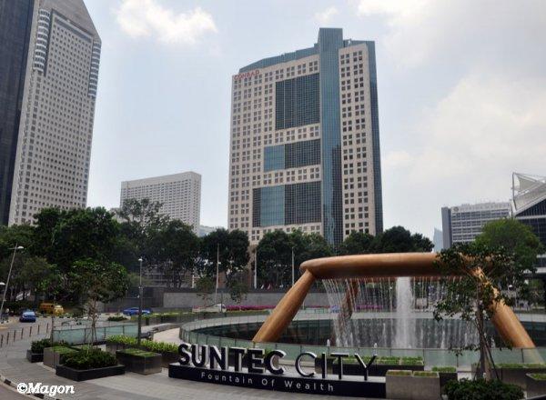 Фонтан богатства Сингапур / The Fountain of Wealth Singapore by Magon