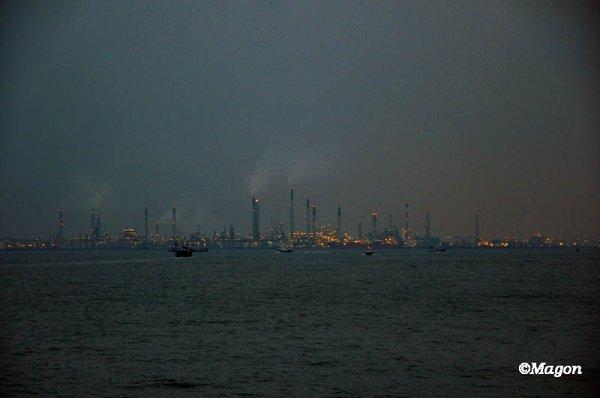 Сингапур. Голубой час by Magon