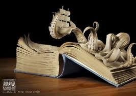 книжная скульптура