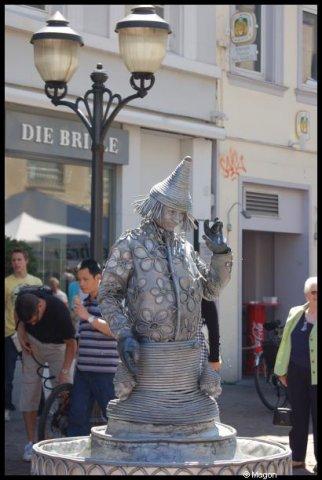 Живая статуя в Трире (Германия) by Magon